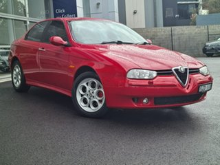 2002 Alfa Romeo 156 JTS Red 5 Speed Manual Sedan.