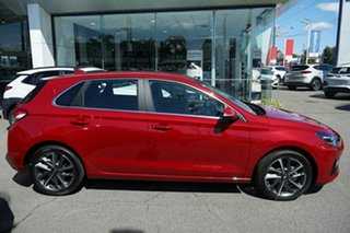 2020 Hyundai i30 PD.V4 MY21 Active Firey Red 6 Speed Sports Automatic Hatchback
