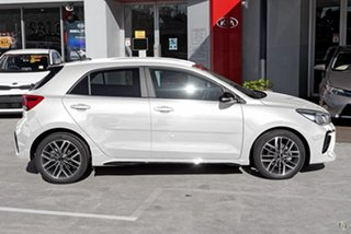 2020 Kia Rio YB MY21 GT-Line DCT White 7 Speed Sports Automatic Dual Clutch Hatchback