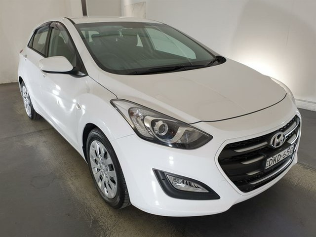 Used Hyundai i30 GD4 Series II MY17 Active Maryville, 2016 Hyundai i30 GD4 Series II MY17 Active White 6 Speed Manual Hatchback