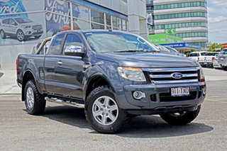 2013 Ford Ranger PX XLT Super Cab Grey 6 Speed Sports Automatic Utility.