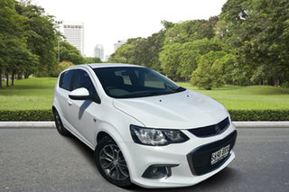 2017 Holden Barina TM MY17 LS White 6 Speed Automatic Hatchback.