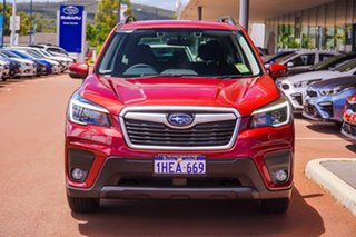 2020 Subaru Forester S5 2.5I Red Constant Variable SUV.