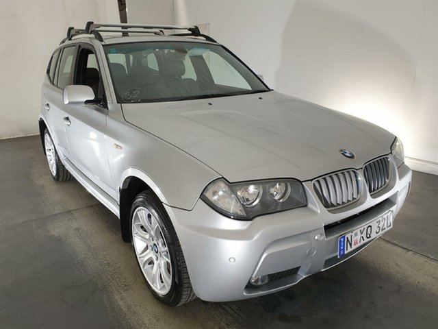 Used BMW X3 E83 MY07 si Steptronic Maryville, 2007 BMW X3 E83 MY07 si Steptronic Silver 6 Speed Sports Automatic Wagon