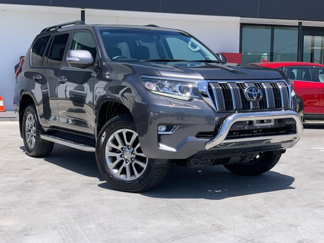 Used Toyota Landcruiser Prado GDJ150R Kakadu Liverpool, 2018 Toyota Landcruiser Prado GDJ150R Kakadu Grey 6 Speed Sports Automatic Wagon