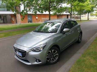 2017 Mazda 2 DJ2HA6 Genki SKYACTIV-MT Grey 6 Speed Manual Hatchback.