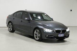 2013 BMW 320i F30 Sport Line Grey 8 Speed Automatic Sedan