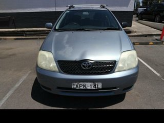 2003 Toyota Corolla ZZE122R Ascent Grey 4 Speed Automatic Wagon