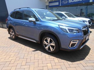 2020 Subaru Forester S5 MY21 2.5i-S CVT AWD Horizon Blue 7 Speed Constant Variable Wagon.