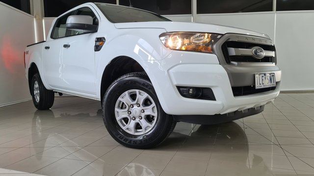 Used Ford Ranger PX MkII XLS Double Cab Deer Park, 2017 Ford Ranger PX MkII XLS Double Cab White 6 Speed Manual Utility