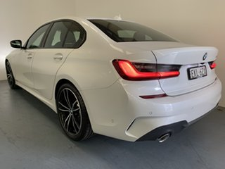 2020 BMW 3 Series G20 330i Steptronic M Sport Mineral White 8 Speed Sports Automatic Sedan