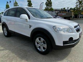 2007 Holden Captiva CG SX AWD White 5 Speed Sports Automatic Wagon.