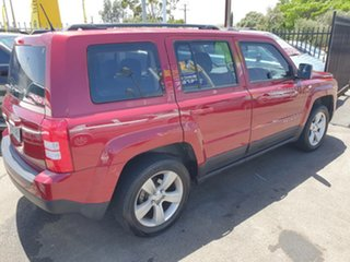 2015 Jeep Patriot MK MY15 Sport 4x2 Red 6 Speed Sports Automatic Wagon