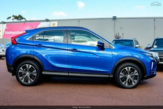 2020 Mitsubishi Eclipse Cross YA MY20 LS (2WD) Blue Continuous Variable Wagon.