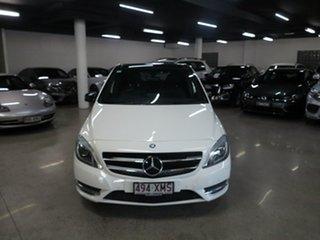 2013 Mercedes-Benz B-Class W246 B200 DCT White 7 Speed Sports Automatic Dual Clutch Hatchback.