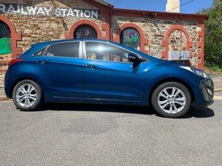 2014 Hyundai i30 GD2 MY14 Trophy Dazzling Blue 6 Speed Sports Automatic Hatchback