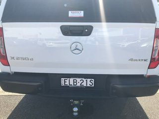 2018 Mercedes-Benz X-Class 470 X250d 4MATIC Pure White 7 Speed Sports Automatic Cab Chassis