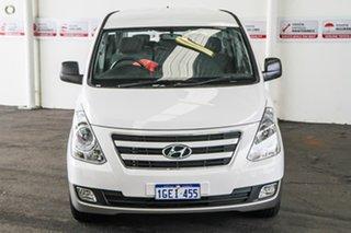 2016 Hyundai iMAX TQ Series II (TQ3) White 4 Speed Automatic Wagon.