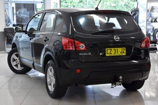 2009 Nissan Dualis J10 Ti AWD Black 6 Speed Manual Hatchback.