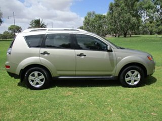2009 Mitsubishi Outlander ZG MY09 Activ Gold 6 Speed Constant Variable Wagon