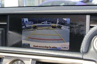 2013 Lexus IS AVE30R IS300h F Sport White 1 Speed Constant Variable Sedan Hybrid