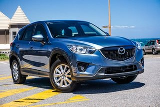2014 Mazda CX-5 KE1031 MY14 Maxx SKYACTIV-Drive AWD Sport Blue 6 Speed Sports Automatic Wagon.