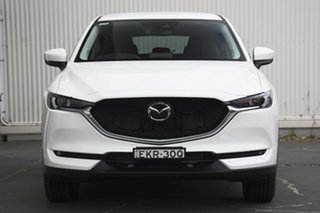 2020 Mazda CX-5 KF4WLA Maxx SKYACTIV-Drive i-ACTIV AWD Sport White 6 Speed Sports Automatic Wagon