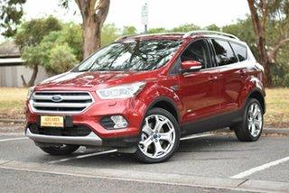 2017 Ford Escape ZG Titanium Red 6 Speed Sports Automatic SUV.