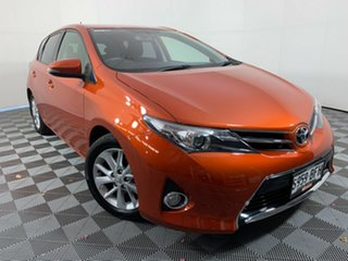 2015 Toyota Corolla ZRE182R Ascent Sport S-CVT Orange 7 Speed Constant Variable Hatchback.