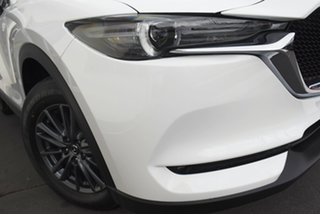 2020 Mazda CX-5 KF4WLA Maxx SKYACTIV-Drive i-ACTIV AWD Sport White 6 Speed Sports Automatic Wagon.