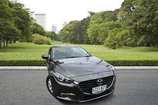 2018 Mazda 3 BN5276 Maxx SKYACTIV-MT Sport Grey 6 Speed Manual Sedan.