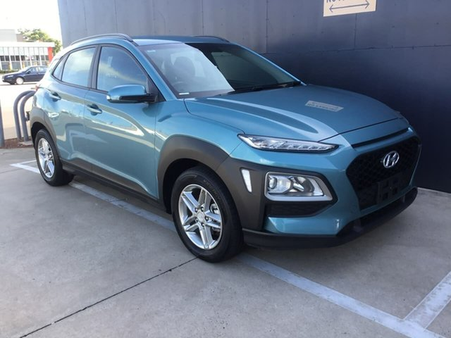 Used Hyundai Kona OS.2 MY19 Active 2WD Stuart Park, 2018 Hyundai Kona OS.2 MY19 Active 2WD Green 6 Speed Sports Automatic Wagon