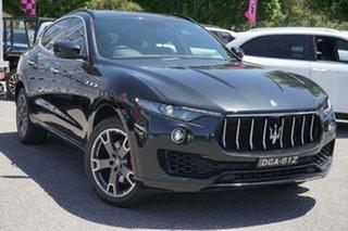 2017 Maserati Levante M161 MY17 Q4 Black 8 Speed Sports Automatic Wagon.