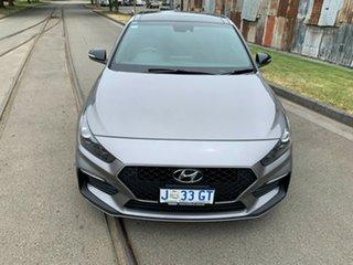 2019 Hyundai i30 PD.3 MY20 N Line D-CT Premium Grey 7 Speed Sports Automatic Dual Clutch Hatchback.