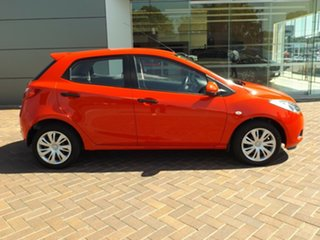 2008 Mazda 2 DE10Y1 Neo Red 4 Speed Automatic Hatchback.