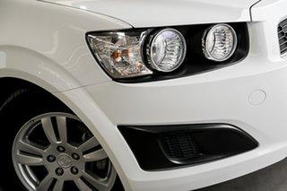2016 Holden Barina TM MY16 CD White 6 Speed Automatic Hatchback.