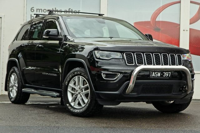Pre-Owned Jeep Grand Cherokee WK MY18 Laredo Ferntree Gully, 2018 Jeep Grand Cherokee WK MY18 Laredo Black 8 Speed Sports Automatic Wagon