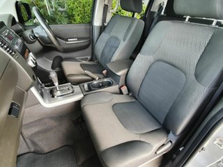 2013 Nissan Navara ST Silver 5 Speed Automatic Dual Cab
