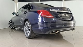 2016 Mercedes-Benz C-Class W205 807MY C250 7G-Tronic + Blue 7 Speed Sports Automatic Sedan