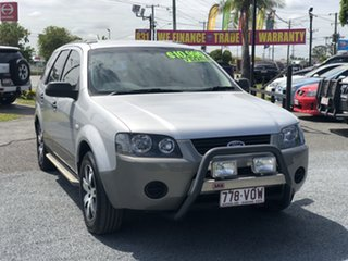 2007 Ford Territory SY SR Silver 4 Speed Sports Automatic Wagon.