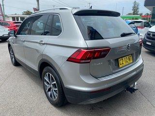 2018 Volkswagen Tiguan 5N MY18 110TSI DSG 2WD Comfortline Silver 6 Speed