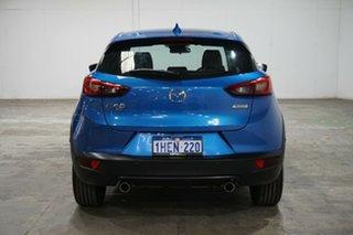2018 Mazda CX-3 DK4W7A Akari SKYACTIV-Drive i-ACTIV AWD Dynamic Blue 6 Speed Sports Automatic Wagon