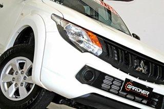 2017 Mitsubishi Triton MQ MY18 GLX Plus (4x4) White 6 Speed Manual Dual Cab Utility.