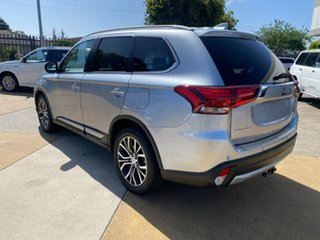 2017 Mitsubishi Outlander ZK MY17 LS 4WD Safety Pack Silver 6 Speed Sports Automatic Wagon