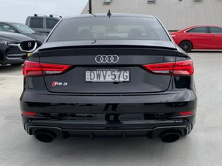 2018 Audi RS 3 8V MY18 Sportback S Tronic Quattro Black 7 Speed Sports Automatic Dual Clutch.