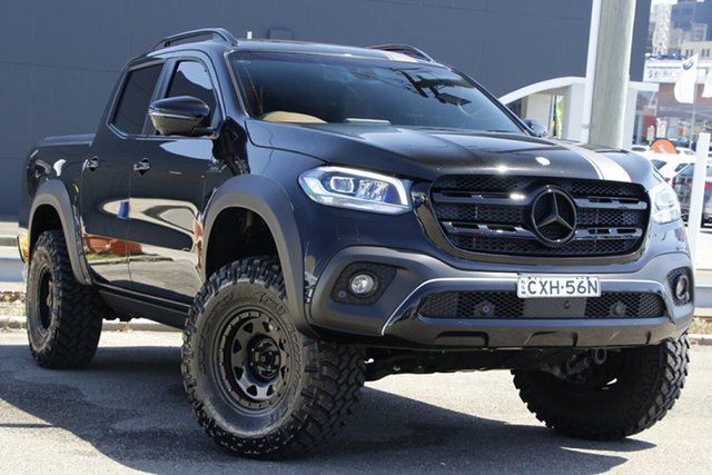 Used Mercedes-Benz X-Class 470 X350d 7G-Tronic + 4MATIC Power Parramatta, 2019 Mercedes-Benz X-Class 470 X350d 7G-Tronic + 4MATIC Power Black 7 Speed Sports Automatic Utility