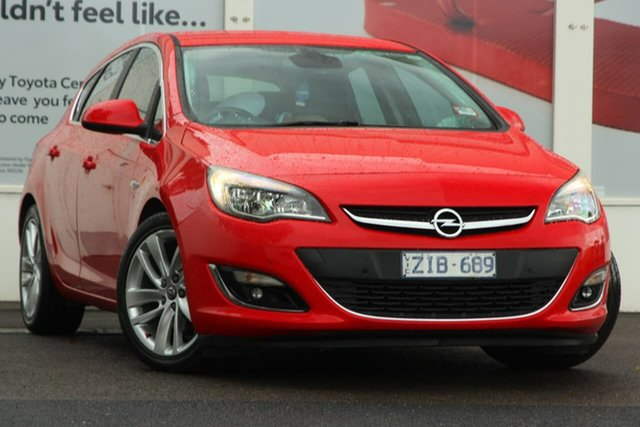Pre-Owned Opel Astra AS Sport Ferntree Gully, 2012 Opel Astra AS Sport Red 6 Speed Sports Automatic Hatchback