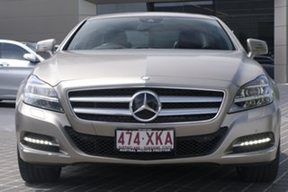 2013 Mercedes-Benz CLS-Class C218 MY13.5 CLS350 Coupe 7G-Tronic + Grey 7 Speed Sports Automatic