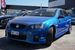 2010 Holden Commodore VE II SV6 Blue 6 Speed Manual Sedan.
