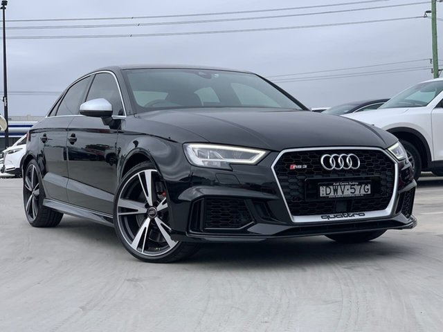 Used Audi RS 3 8V MY18 Sportback S Tronic Quattro Liverpool, 2018 Audi RS 3 8V MY18 Sportback S Tronic Quattro Black 7 Speed Sports Automatic Dual Clutch
